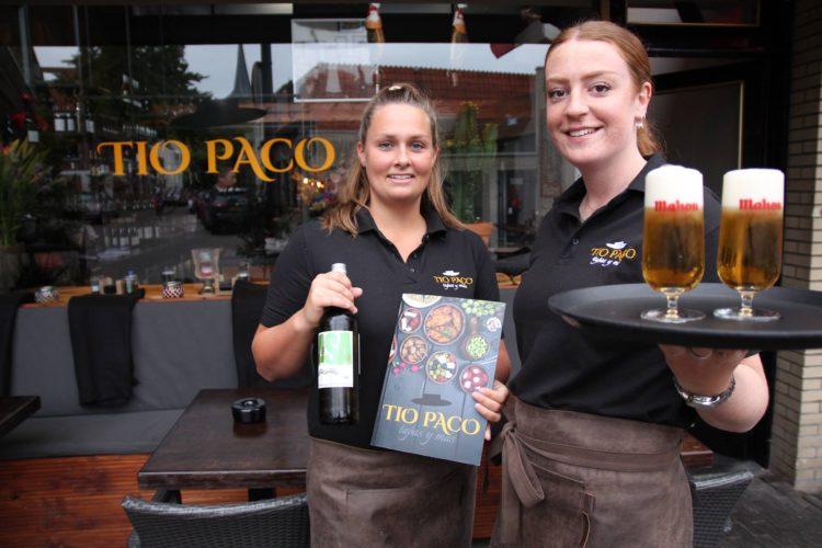 Logo-ontwerp en communicatiemiddelen Tapas-restaurant Tio Paco